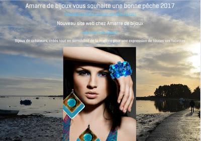 Voeux 2017 Amarre de bijoux