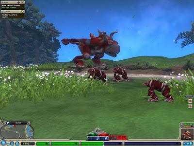 Spore Collection Game