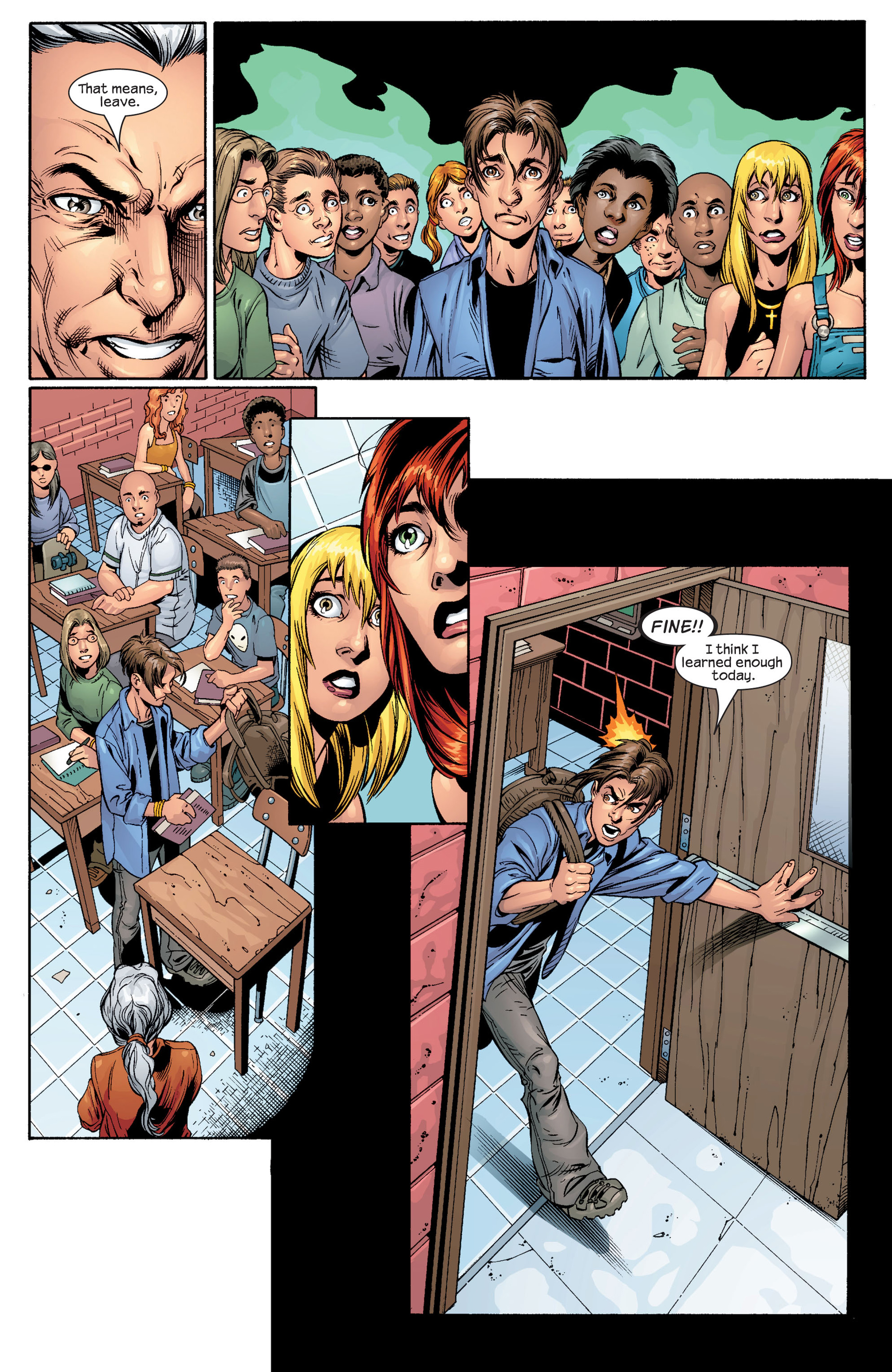 Read online Ultimate Spider-Man (2000) comic -  Issue #48 - 11