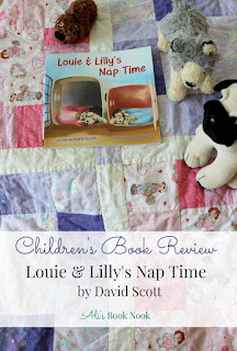 Children's Book review louie and lilly's nap time