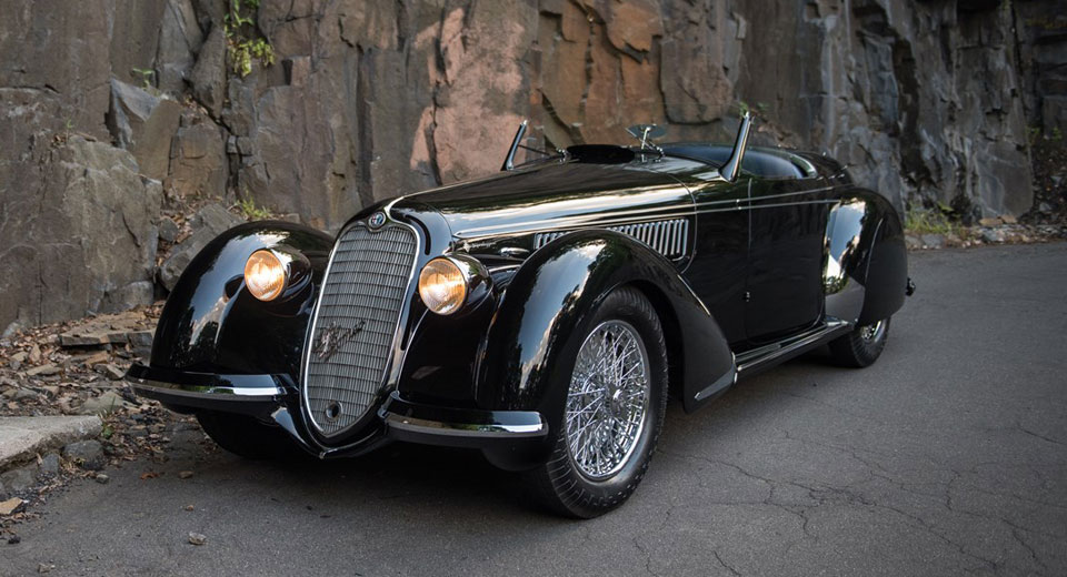 This 1939 Alfa Romeo 8C Spider Could Sell For $25 Million