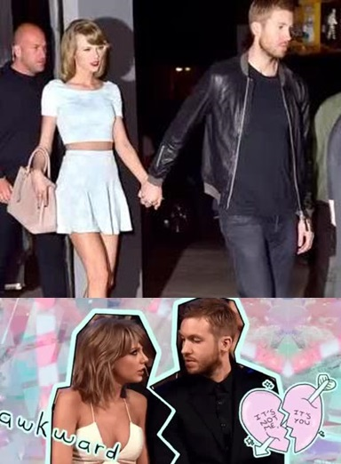 20 CELEBS WHO DON'T LIKE TAYLOR SWIFT 18. Calvin Harris