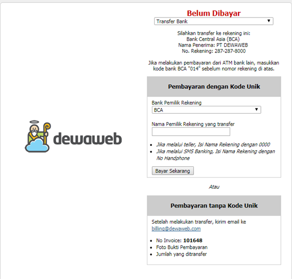 hosting dewa web 9