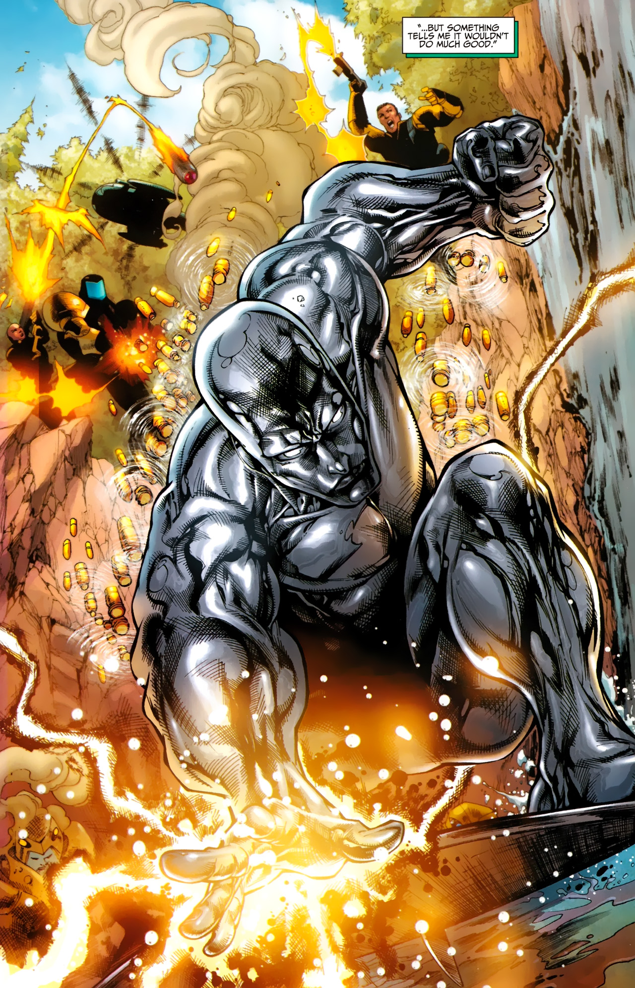 Read online Silver Surfer (2011) comic -  Issue #1 - 14