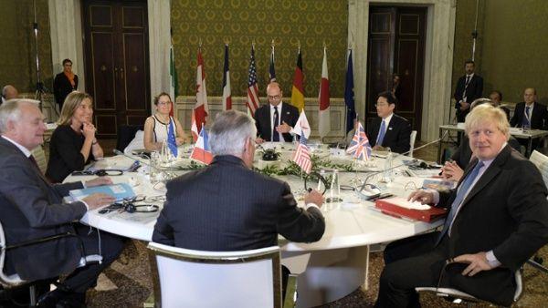 Protestas en Italia contra el capitalismo en cumbre del G7