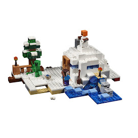 Minecraft The Snow Hideout Lego Set