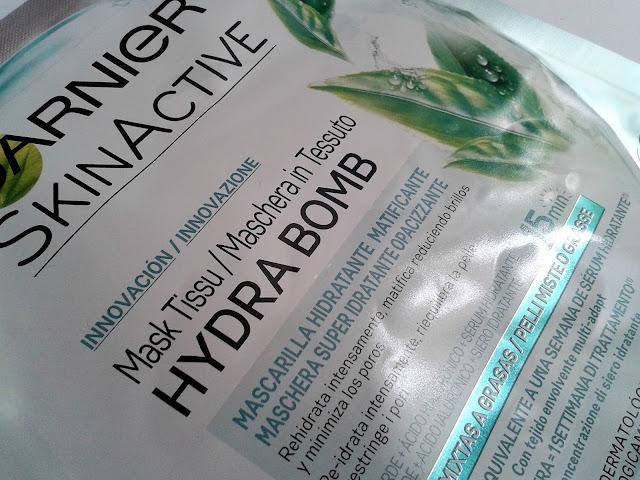 mascarilla hydrabomb garnier