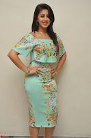 Nikki Galrani in Cute Dress Dress At Marakathamani Success Meet ~  Exclusive 013.JPG