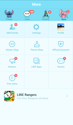 Stitch Official Tema Line Android
