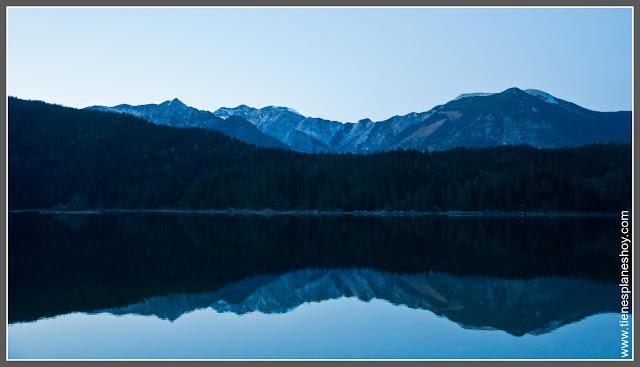 Lago Eibsee Baviera (Alemania)