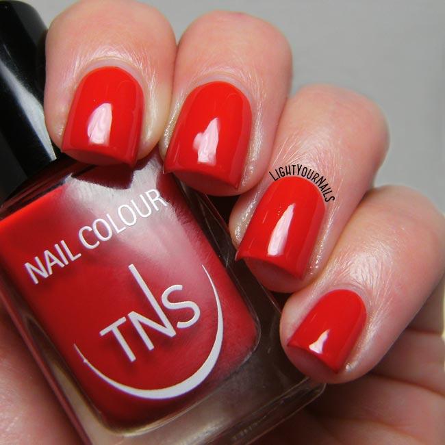 Smalto rosso TNS Best Wishes UNS458