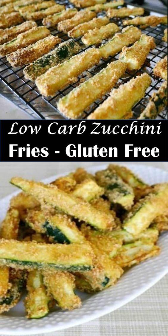 Low Carb Zucchini Fries Recipe – Gluten Free