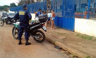 Guarda Municipal de Várzea Grande (MT) volta a fazer policiamento de escolas e alunos