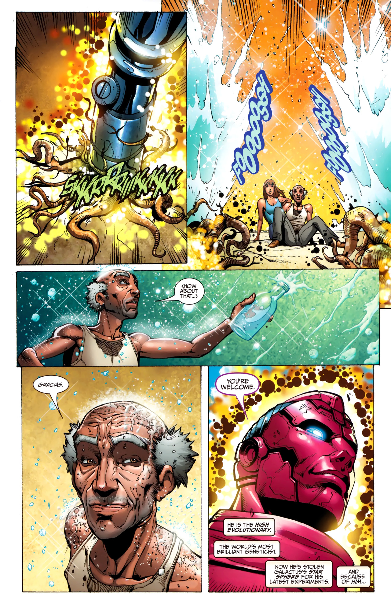 Read online Silver Surfer (2011) comic -  Issue #3 - 5