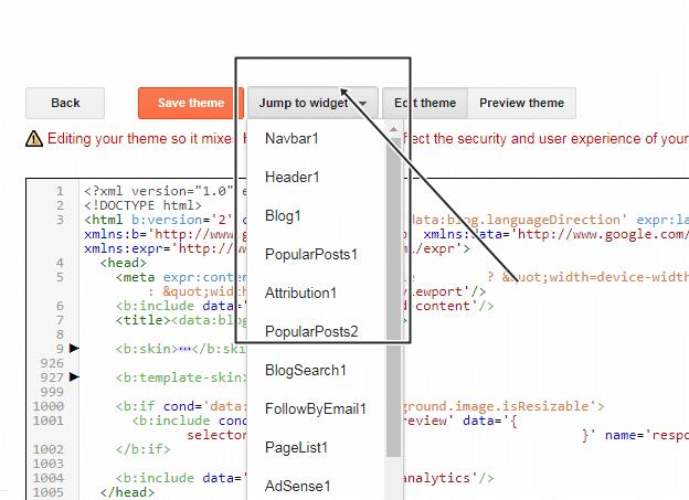 how to delete any widget from blogspot blog, blogspot blog se kisi bhi widget ko kaise remove kare, blogspot tutorial in hindi