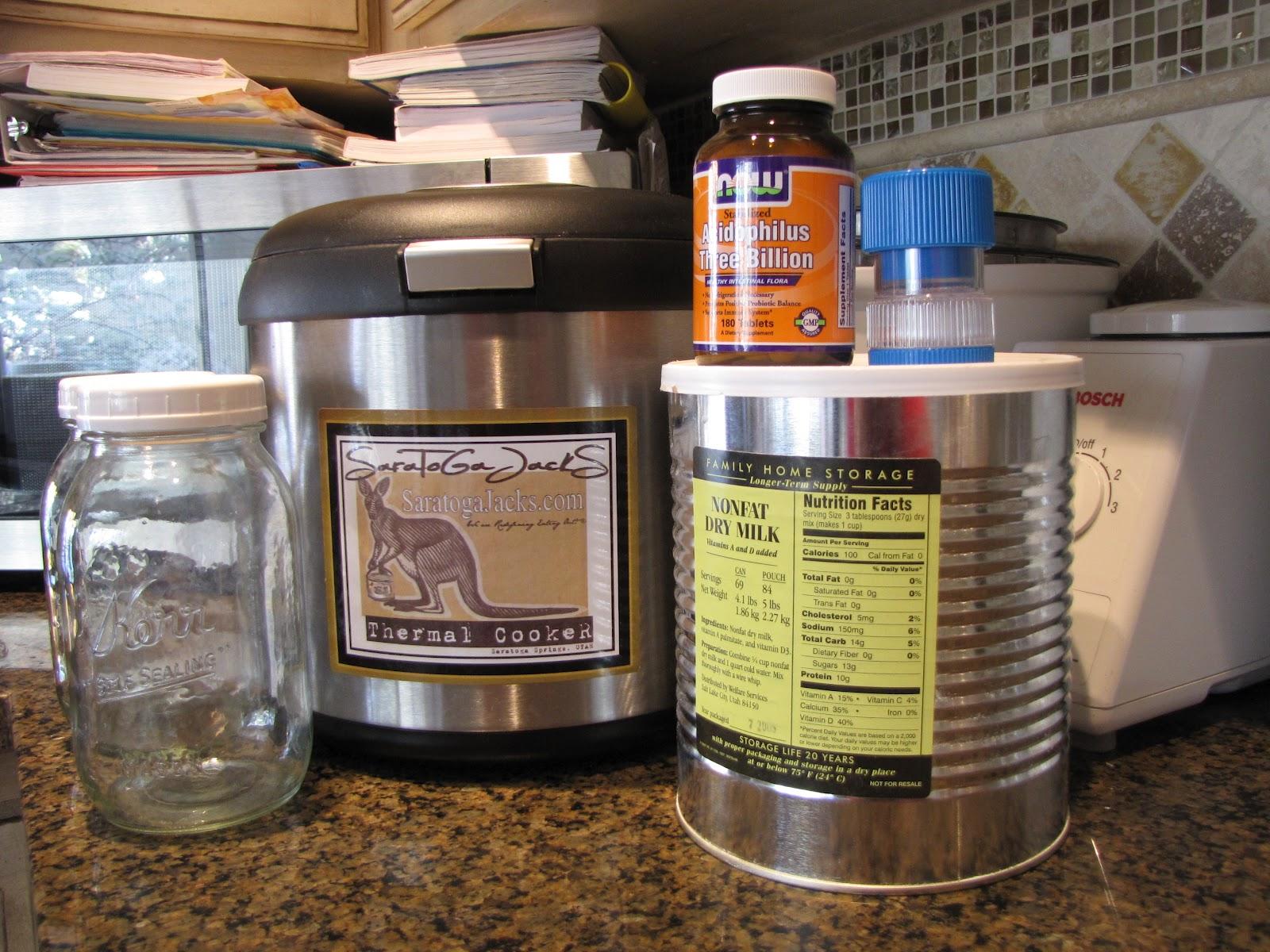 PREPARE TODAY: Making Yogurt With Acidophilus Tablets