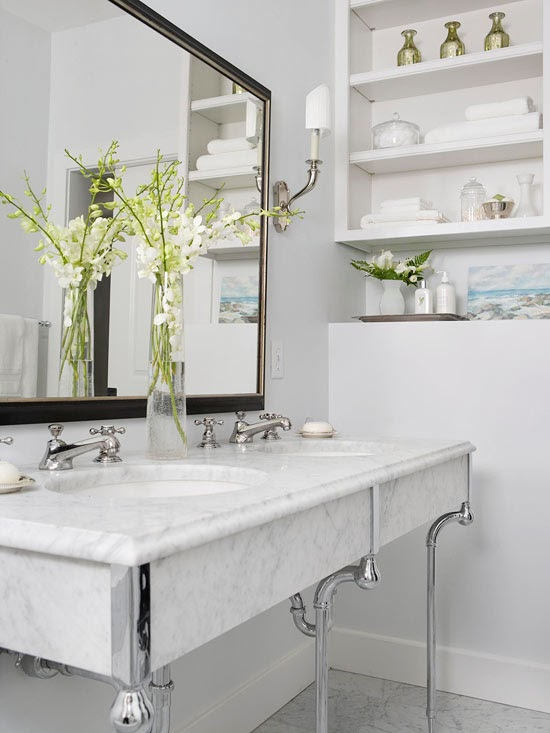 6 Elegant Bathroom Ideas For Compact Spaces: Clever Solution For Small Spaces 2014 Ideas