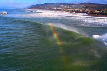 Rainbow in Water