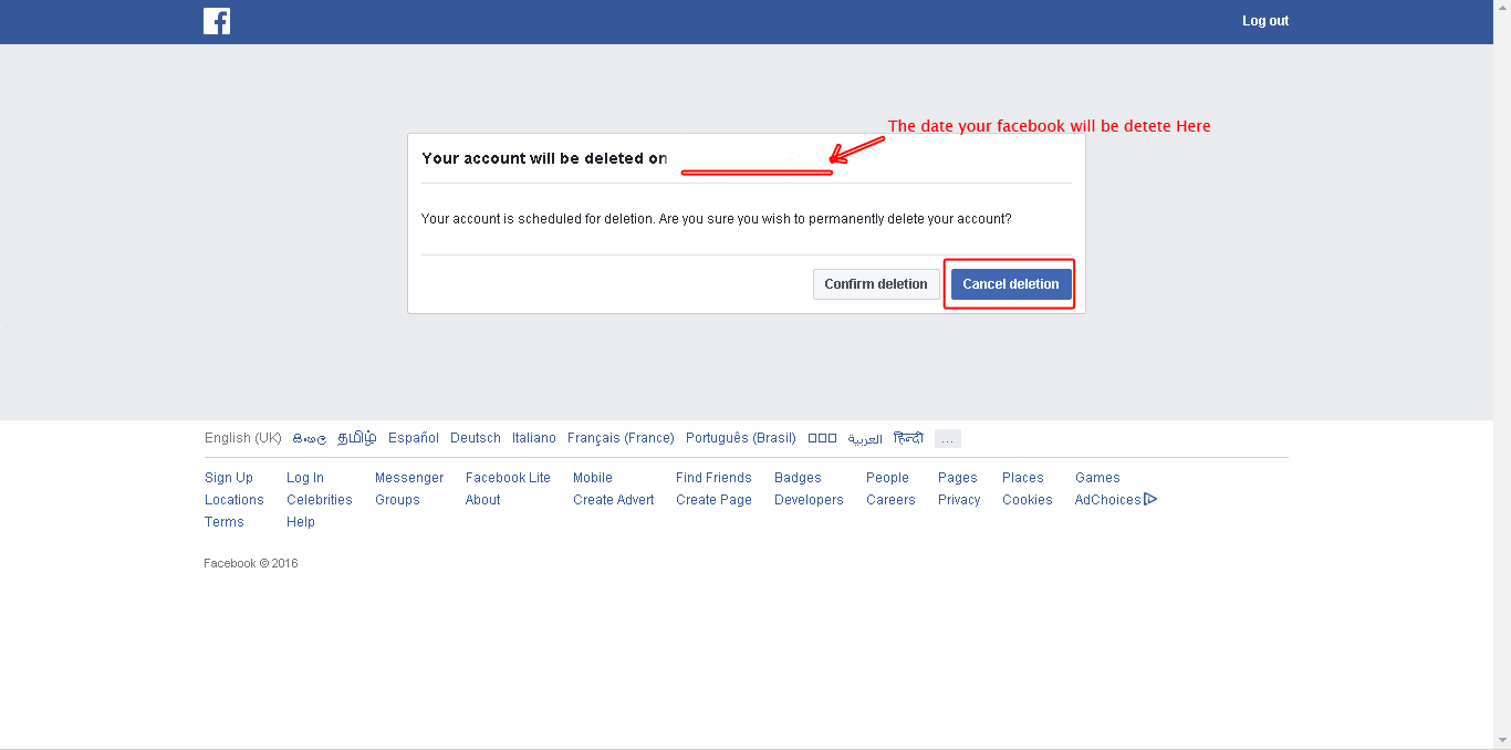 How to permanently delete your facebook how to permanently delete your facebook account ccuart Image collections