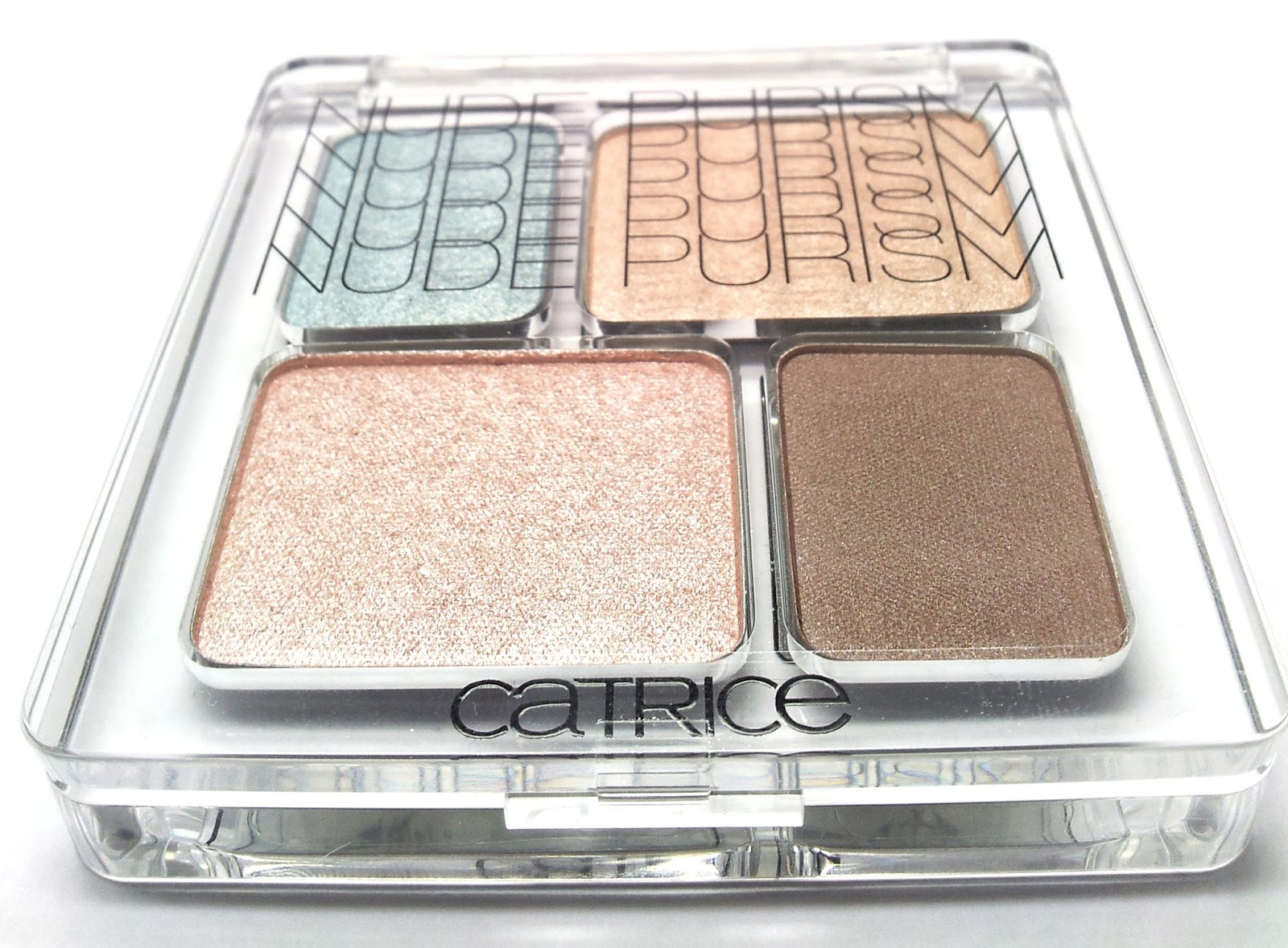 Catrice Nude purism EyeColour quattro C01 Naked brown