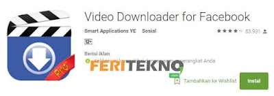 download video di facebook dari hp - feri tekno
