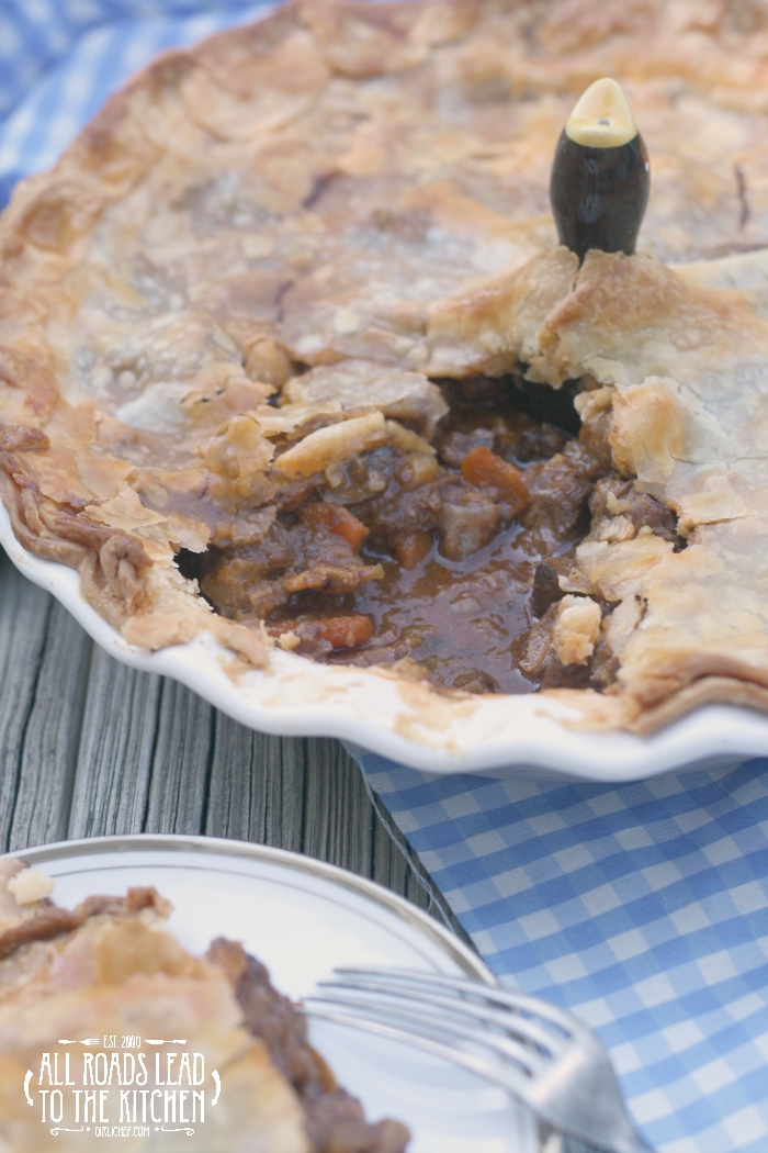 Borrow Your Man Beef and Beer Pie