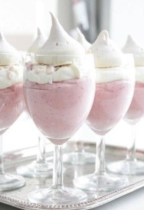Strawberry Pie Mousse