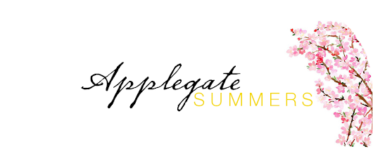 Applegate Summers: New Year, New Blog Giveaway