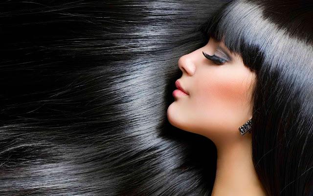 Tips Alami Rambut Berkilau