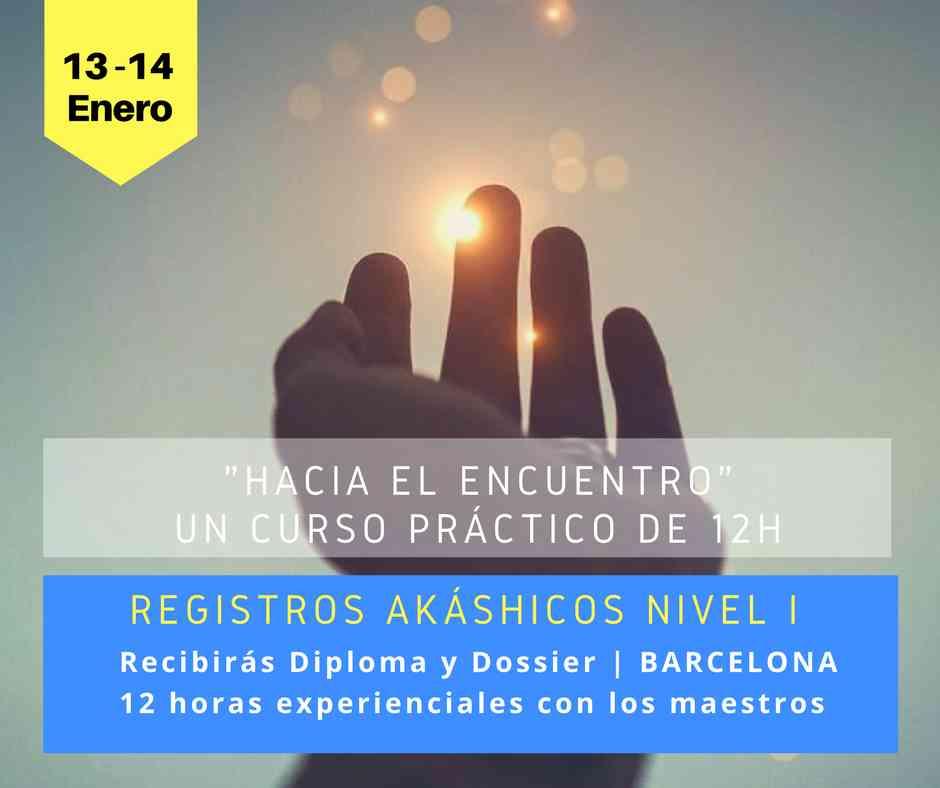 Curso de Registros Akáshicos Nivel I, Barcelona cursos integrados de deixalatevaempremta.org