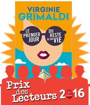 prix des lecteurs 2016 premier jour du reste de ma vie Grimaldi crosière feel good avis critique chronique blog
