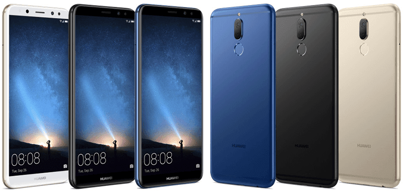 Huawei Mate 10 Lite Leaked, Highlights 18:9 Screen And Quad Cameras