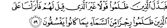 Surat Al-Baqarah Ayat 59