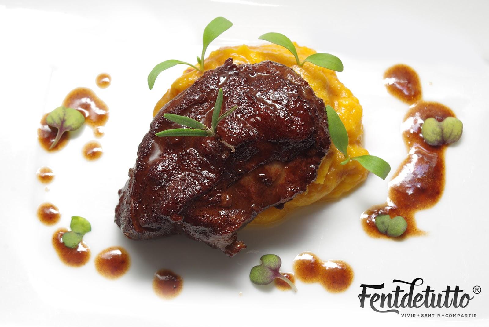Fentdetutto carrillera de cerdo en salsa de boletus y for Cocinar carrilleras de cerdo