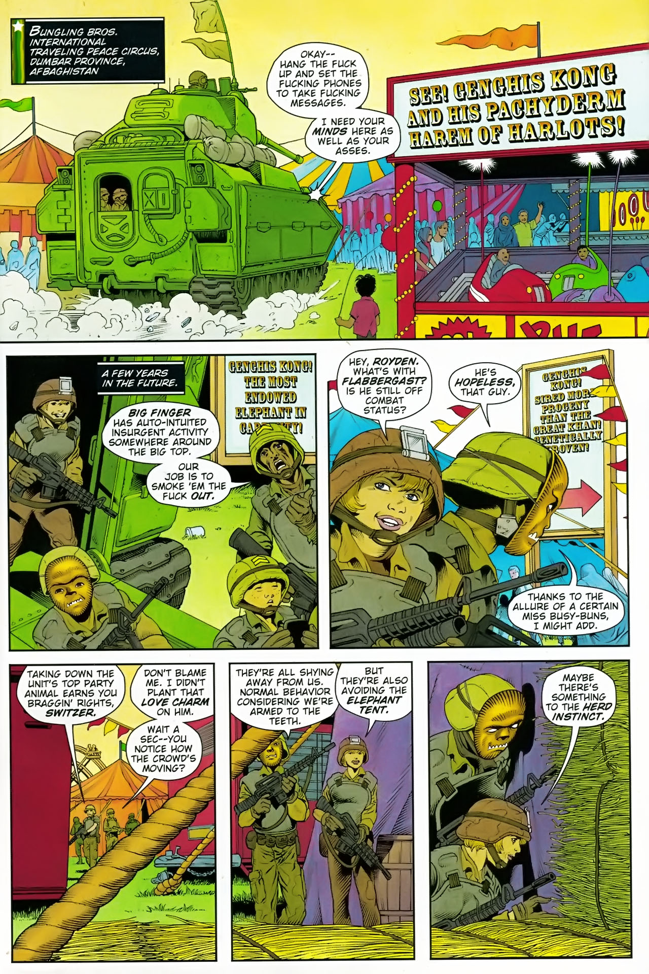 Read online Army @ Love comic -  Issue #7 - 2