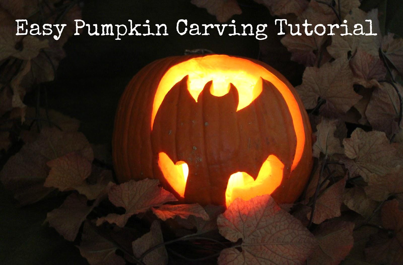 how to carve a pumpkin easy lille punkin 39. Black Bedroom Furniture Sets. Home Design Ideas