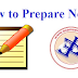 How to prepare Notes when reading an Article (Banking, Government Schemes, Education articles etc...)