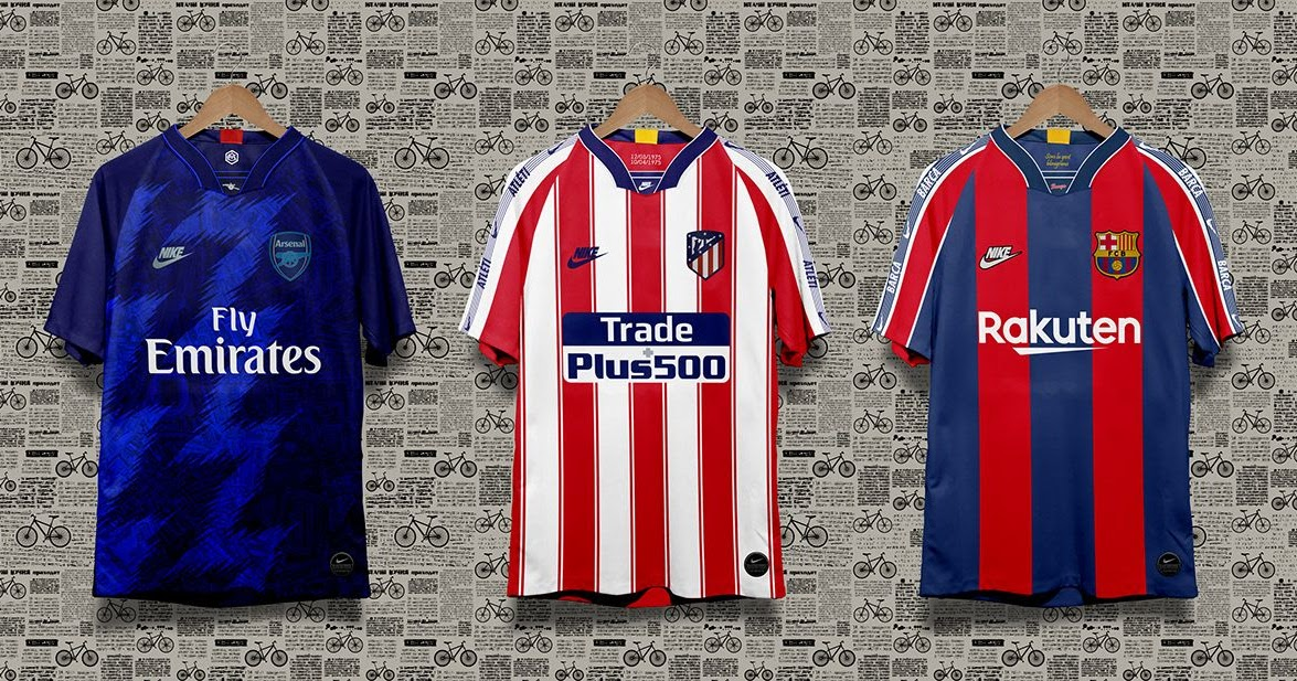 7b657c7e7 12 Stunning 1990s Inspired Nike Retro Kit Concepts by Oneblacktie ...