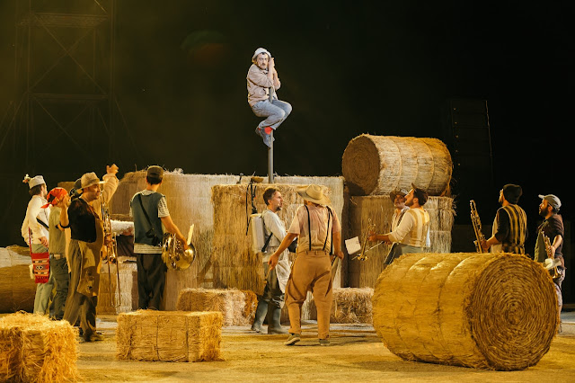 15.000 θεατές στο Αρχαίο Θέατρο Επιδαύρου για την Αριστοφανική κωμωδία «Πλούτος»
