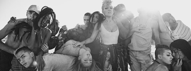 "P!nk Premieres ""What About Us"" Music Video"