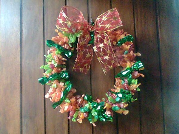 Mariaelisacrochet coronas de navidad - Coronas de navidad ...
