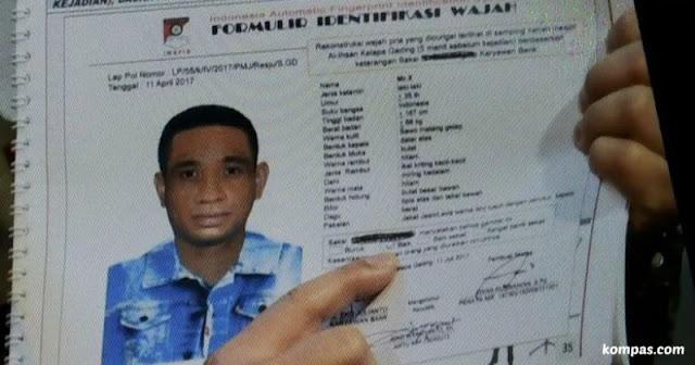 Sketsa Peyerang Novel Baswedan, Orang Flores?