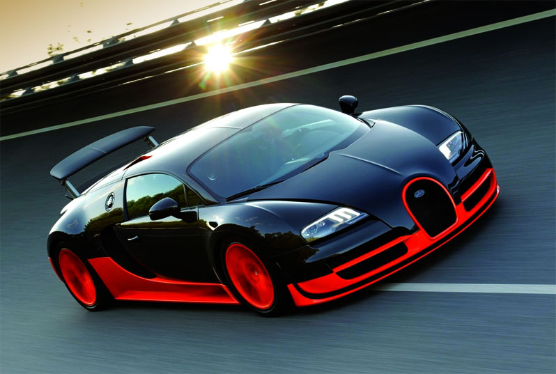 Fast Auto Bugatti Veyron Super Sport Cars Grand Edition