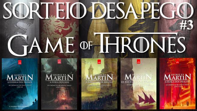 Sorteio do Desapego #1: Game of Thrones