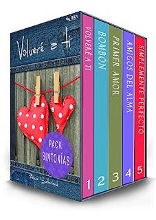 Pack Sintonias. Cinco Novelas Romanticas PDF