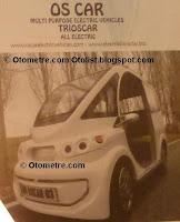 yerli ve elektrikli otomobil Oscar