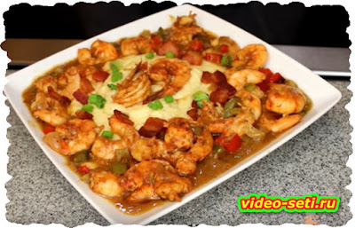 Shrimp & Grits (Saturday Meal)