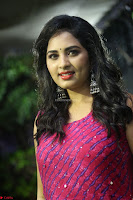 Srushti in beautiful Pink Sleeveless Dress Cute Actress Dimples ~  Exclusive 001.JPG