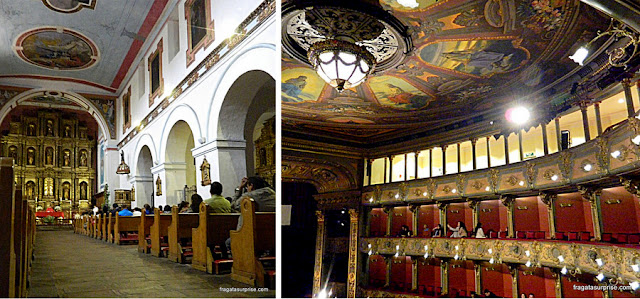 Bogotá: Igreja de La Candelária e Teatro Colón