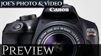 Canon Rebel T6 (1300D) Digital SLR Camera Announced | Preview